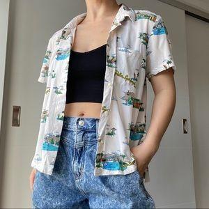 🌺 Vans vintage Hawaiian shirt